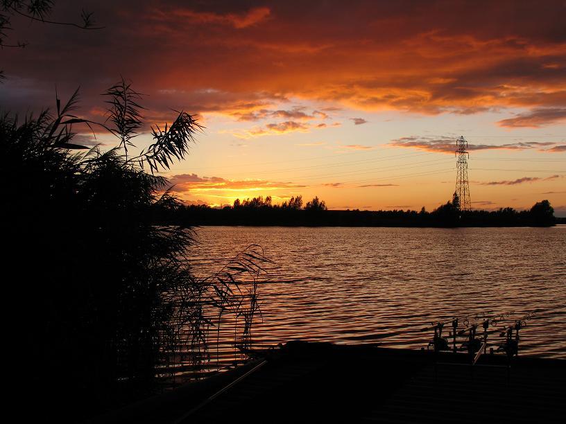 Sunset on the second night