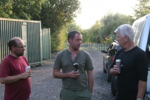 Dave, Lee and Martin