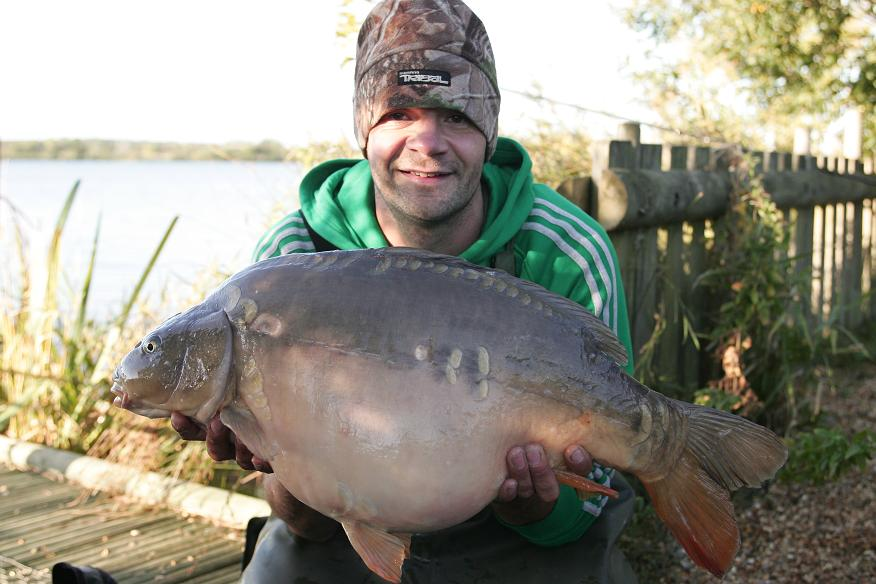 Derek at 24lb 8oz